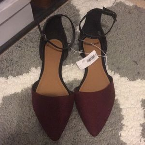 NWT color block flats from old navy